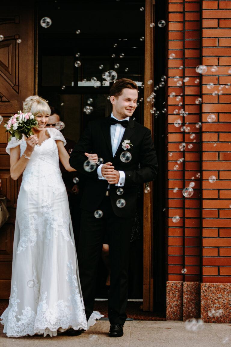 Bańki mydlane na ślubie kielce