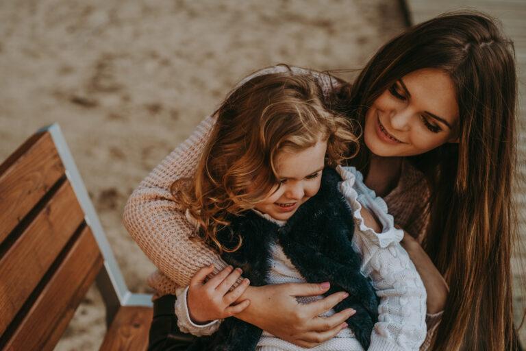 zdjęcie mama i córka kielce
