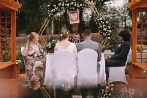Ślub w plenerze Wiktorii i Daniela