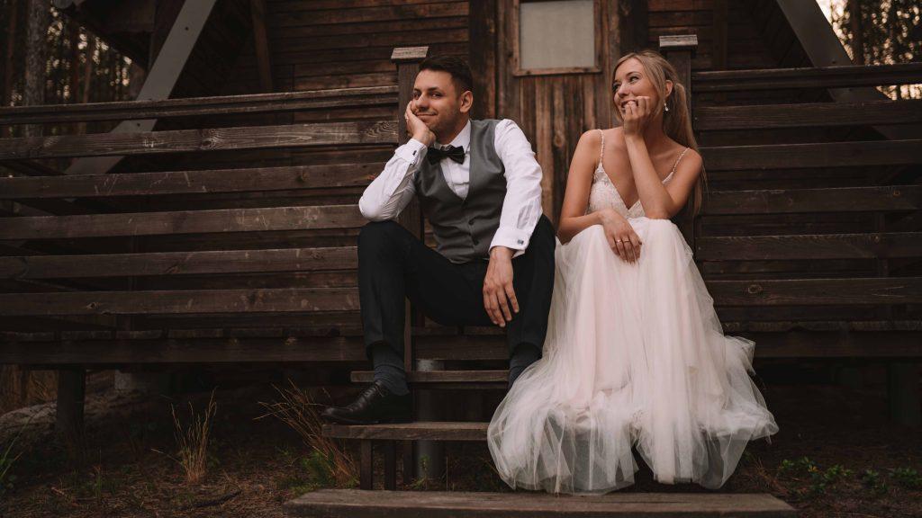 Sesja poślubna plenerowa